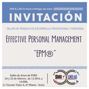 Taller Effective Personal Management EPM